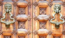 Drzwi dla tło i tekstur Obraz Stock