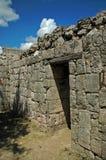 drzwi do klasztoru starożytnych majów Zdjęcie Stock