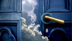 drzwi do nieba Zdjęcia Stock