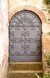 drzwi dokonany żelazny Zdjęcie Royalty Free