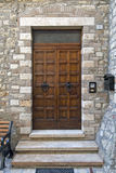 drzwi drewniany Obrazy Stock