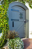 drzwi drewniany ciężki Obraz Royalty Free