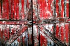 drzwi drewniany stary Obrazy Royalty Free