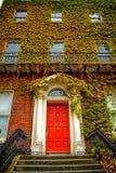 Drzwi, Dublin, Irlandia fotografia royalty free