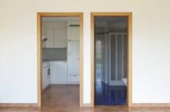 drzwi dwa Zdjęcie Royalty Free