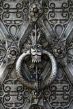 drzwi żelaza Zdjęcia Royalty Free