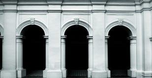Drzwi Europa styl Zdjęcia Royalty Free