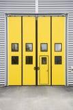 drzwi garaż Zdjęcia Stock