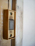drzwi garażu przycisk Zdjęcia Stock