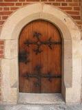 drzwi gothic Fotografia Royalty Free