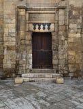 Drzwi historyczna teologiczna szkoła Obrazy Stock
