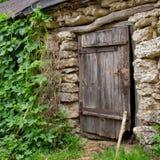 Drzwi i chmiel Fotografia Royalty Free