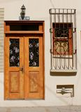 Drzwi i okno Obraz Royalty Free