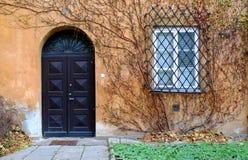 Drzwi i okno Obrazy Royalty Free