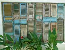 Drzwi i okno obrazy stock