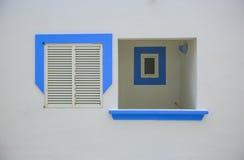Drzwi i okno mediterraean zdjęcia royalty free