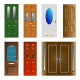 Drzwi Ilustracyjni Fotografia Stock