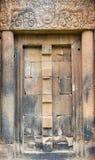 Drzwi kamienia kasztel Zdjęcia Royalty Free