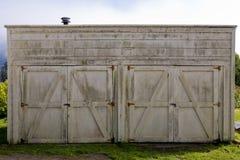 drzwi kareciany dom Fotografia Stock
