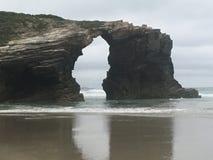 Drzwi katedry plaża Zdjęcie Stock