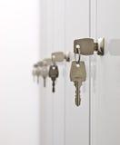drzwi kluczy szafka Zdjęcie Royalty Free