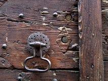 drzwi knocker Zdjęcie Royalty Free