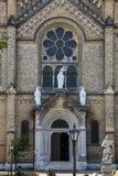 Drzwi kościół katolicki Zdjęcia Stock