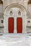 Drzwi kościelni Fotografia Royalty Free