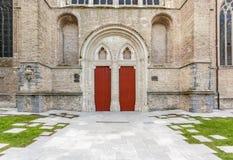Drzwi kościelni Zdjęcia Stock