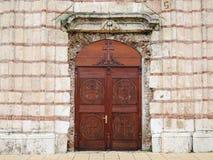 drzwi kościoła Zdjęcia Royalty Free