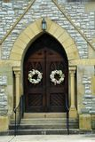 drzwi kościoła zdjęcie royalty free