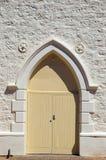 drzwi kościoła methodist Zdjęcie Stock