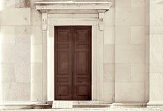 drzwi kościelne Zdjęcie Royalty Free