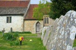 drzwi ko?cio?a St John ewangelisty kościół, Zakopuje, Sussex, UK obraz stock