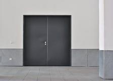 drzwi kopii metal zdjęcie stock