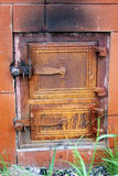 drzwi lany żelazo Obraz Royalty Free