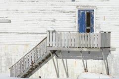 drzwi lofoten starego s Zdjęcie Royalty Free