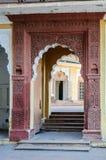 Drzwi Mehrangarh fort, Jodhpur, Rajasthan Obraz Royalty Free