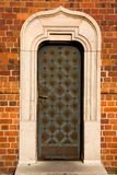drzwi metal stary retro Obraz Stock