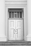 drzwi metalu ochrona Zdjęcia Royalty Free
