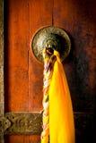 Drzwi monaster przy Ladakh regionem Zdjęcie Stock