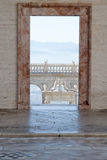 Drzwi na balkonie Zdjęcie Royalty Free