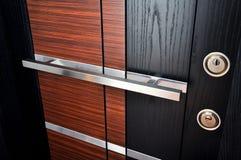 drzwi nowożytny frontowy zdjęcie royalty free