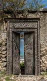 Drzwi ocean indyjski Zdjęcia Stock