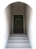 drzwi ocieniający Fotografia Stock