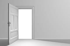 drzwi otwarty Fotografia Royalty Free