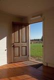 drzwi otwarty Obrazy Stock