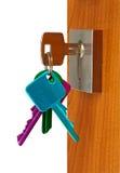 drzwi otwarty Zdjęcie Stock