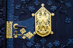 drzwi ozdobny Obrazy Royalty Free