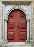 Drzwi Pena Sintra, Portugalia zdjęcia stock
